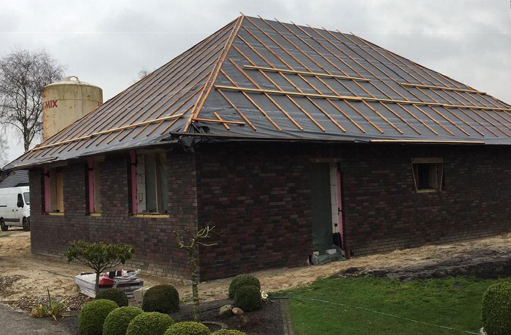 Bau von Innen- & Außenwänden